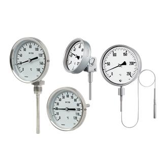 Биметални и манометрични термометри