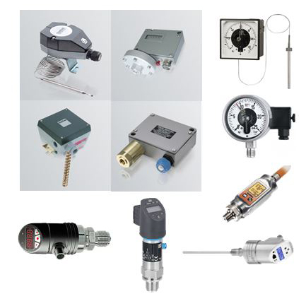 Електро-механични термостати и пресостати