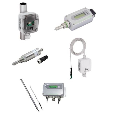 Измерване на точка на оросяване и мониторинг на конденз