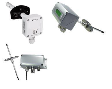Сензори и трансмитери за скорост на въздух